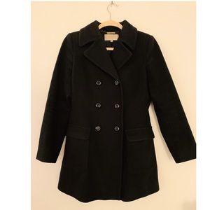 Hobbs London Dark Navy wool pea coat US 4